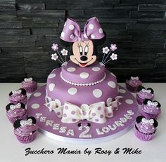 Best Minnie Mouse Birthday Cake Ideas With Beautiful Image - Minni Mouse Cake, Minnie Mouse Birthday Cakes, First Birthday Cakes, Birthday Cake Girls, 2nd Birthday, Bolo Minnie, Minnie Cake, Mickey Cakes, Bolo Original