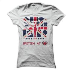 British At Heart - Icons Of Britain T Shirt - #sleeve #men t shirts. ORDER NOW…