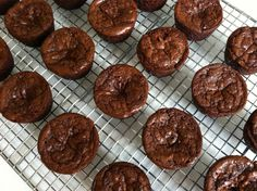 Mini brownie bites I just made them. Perfect size and one was enough for my craving