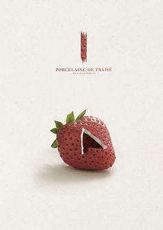 /// Porcelaine de fruits /// on the Behance Network