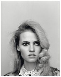 Alasdair McLellan photographed Lara Stone for Self Service s:s 2011