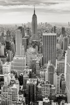 Decor Free stock photo of black-and-white, city, skyline, buildings