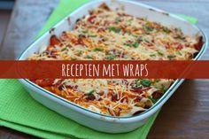 10x recepten met wraps