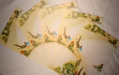 Vintage Roadrunner Note Cards Circa 1950s by FoundAround on Etsy, $4.00