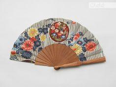 Eventail espagnol en bois et tissu japonais : Autres accessoires par olele