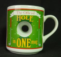 Golfer Mug The Official Hole in One Mug  Very by DustedMemories