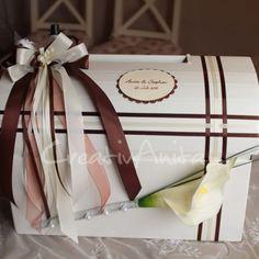 Briefbox in Weboptik zur Hochzeit - Außergewöhnlich!