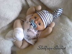 CUSTOME ORDER 13 soft sculpture doll rag doll by ClothDollBabies