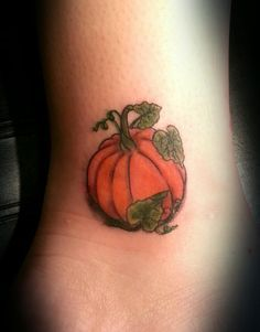 pumpkin tattoo | Tattoo 4 Me