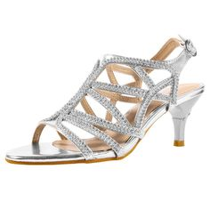ca17e96093bb online shopping for SheSole Women s Low Heel Dress Strappy Sandal Wedding  Shoes from top store. See new offer for SheSole Women s Low Heel Dress  Strappy ...