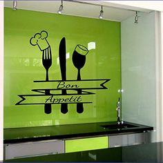 Restaurant Kitchen Walls easter wall art rabbit decal vinyl egg sticker flowers kitchen