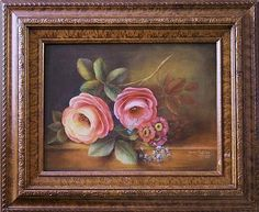 Roses in the Flemish Style -- Paint a floral still life in the Flemish style.  #decoartprojects