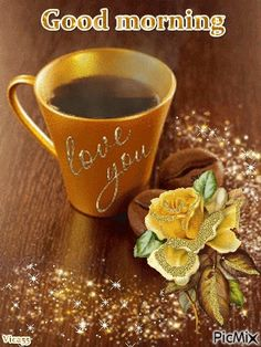 morning gif coffee You are in the right place about beautiful GIF Here we offer you the most beautiful pictures about the christmas GIF you are looking for. When you examine the morning gi Good Morning My Angel, Good Morning Love You, Good Morning Beautiful People, Good Morning Coffee, Good Morning Gif, Good Morning Wishes, Good Morning Images, Good Morning Quotes, Beautiful Gif