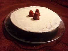 Healthy & Yummy Desserts: Almond Flour Chocolate Cake with Cream Cheese Icing