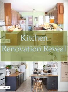 Tips on Contemporary Kitchen Remodeling #Kitchen #Renovation #Reveal... Cheap Kitchen Remodel, Kitchen Remodeling, Cupboard Doors, Kitchen Design, Contemporary, Tips, Home Decor, Wardrobe Doors, Cuisine Design