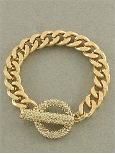Lexie Crystal Chain Bracelet from P.S. I Love You More Boutique