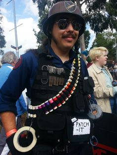 Captain Patch-It: A superhero among cosplayers