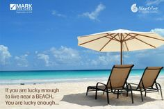 Beach is a blessing.... Don't we all agree ???.... http://nautilusalibaug.in/flats/weekend-home/