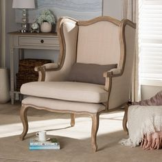 Wholesale Interiors Katherine Arm Chair