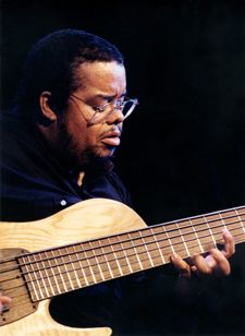 Anthony Jackson. Six string bass magician. RESEARCH #cSw:) - https://www.pinterest.com/claxtonw/bass-foundation/ BASS FOUNDATION: Grammy- nominated American bassist musician based in New York City. Born 1952, invented six- string contrabass a couple of decades before five- string basses became popular. Once had a wah wah pedal attached to his Fender Precision bass, so his sound engineer ran the bass line through a phaser, giving it a swishing sound, and later mixed in echo.