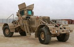 Husky Mine Clearance Vehicule (US Origin)Have never seen this truck before