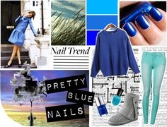 """""""Blue"""" by vicky-a-toth on Polyvore"""