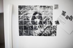 DIY: Turn Your Fridge into a Gallery Wall, Make Photo Magnet Mosaics! | Photojojo