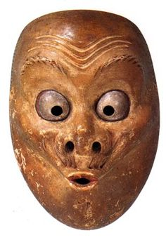 Kyogen Mask of Usobuki. What a great expression.