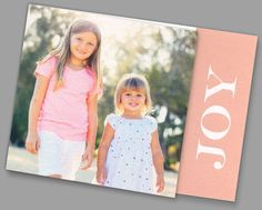 Kleinfeld Paper || Joy Holiday Photo Card