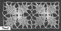 Totally Free Crochet Pattern Blog - Patterns: Pineapple Square 734 Free Crochet Pattern