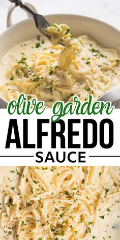 Creamy delicious Olive Garden Copycat Fettuccine Alfredo recipe is best to fix dinner/lunch,made with alfredo sauce made with cream,butter,cream cheese and parmesan,together with fettuccine makes this restaurant style pasta recipe. Clean Eating Recipes, Cooking Recipes, Eating Clean, Eating Healthy, Pasta Facil, Comida Latina, Tapas, Easy Meals, Gastronomia