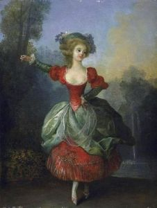 Dancer in Front of a Fountain in a Park - Jean-Frédéric Schall - The Athenaeum