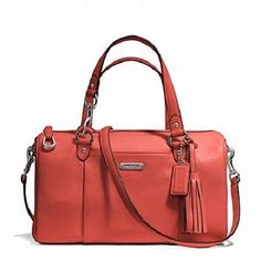 Coach Avery Pebbled Leather Sienna Bag - Satchel $201