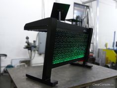 Check out this new DJ Console from Clear Console.  Check out a post on it for more pics and details on www.djtrend.com