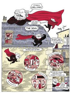Karl Marx's Life and Legacy, in a Comic – Brain Pickings Karl Marx, Best Biographies, Cultura General, Creative Icon, Illustrations, Sociology, History Books, Comic Character, Love Letters
