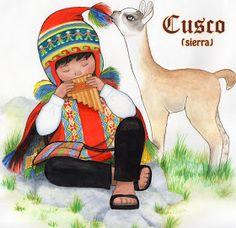 Dibujo a Lápiz: vestimenta tipica del Peru Alpacas, Peru Llama, Peruvian People, Southwest Quilts, Peruvian Art, Llama Birthday, Bible School Crafts, Native Art, Book Of Life
