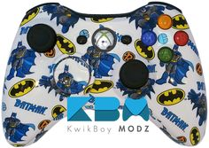 (*** http://BubbleCraze.org - New Android/iPhone game is wickedly addicting! ***) Batman Xbox 360 Controller - ]