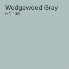 Benjamin Moore Wedgewood Gray: Color Spotlight