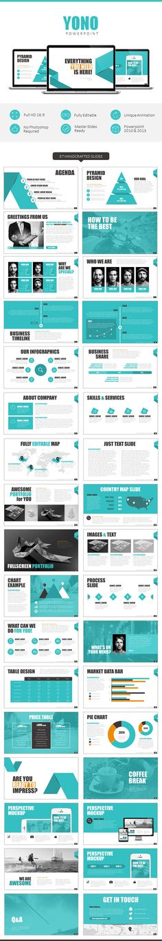 Mod Presentation Template For Business Powerpoint Templates