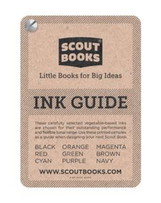 Scout Books Ink Guide $5.00