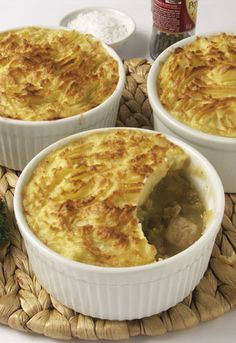 Chicken and leek potato top pie | Wilcox