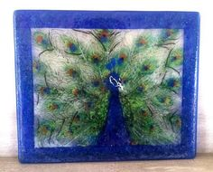 Fused Glass Panel / Frit & Glassline Pens
