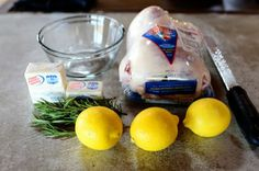 Roast Chicken | The Pioneer Woman Cooks | Ree Drummond--Im going to try this with coconut oil instead of butter