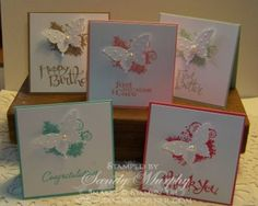 Stampin Up New In Colors Gift Tags 25% Discount on Greeting Stamp sets  More inspiration at www.sandieskorner.com