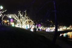 Christmas on the Cumberland at McGregor Park & Riverwalk.