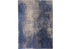 Dywan nowoczesny (niebieski) - Abyss Blue 8629