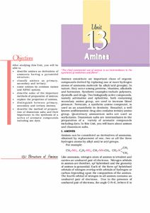 NCERT/CBSE class 12 Chemistry book ChemistryII Chemistry Class 12, The Unit, Words, Horse