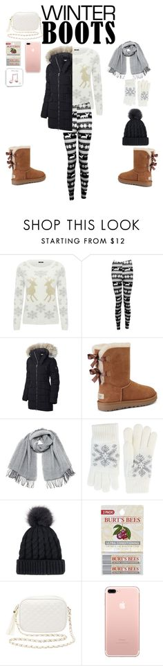 """""""comfortable"""" by daytona9912 ❤ liked on Polyvore featuring M&Co, Boohoo, SOREL, UGG, Vero Moda, Fits, Burt's Bees and Charlotte Russe"""