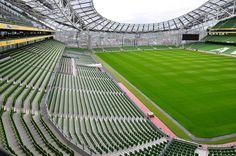 Seating at the new Aviva Stadium, Dublin, Ireland | David dawson