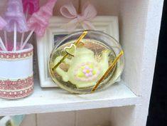 ••  Chocolate regalo Tetera Escala caja 12 Casa de POR ParisMiniatures